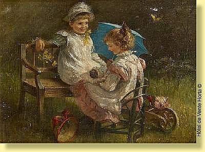 Pietronella Peters (1848-1924) École allemande