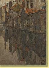 Albert Baertsoen (1866-1922) École belge Huile sur