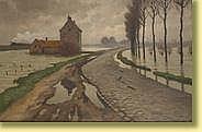 Victor Gilsoul (1867-1939) École belge Huile sur
