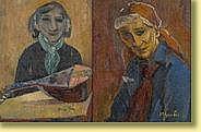 Marthe Guillain (1890-1974) École belge Huiles sur