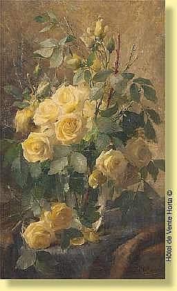 Frans Mortelmans (1865-1936) Ecole belge Huile sur