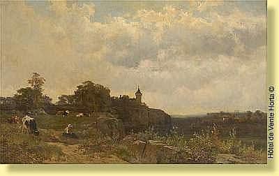 Edmond de Schampheleer (1824-1899) Ecole belge