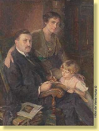 Georges Lemmers (1871-1944) Ecole belge Huile sur