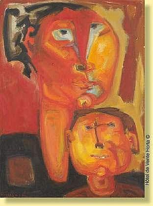 Antonio Guanse (1926--) Ecole espagnole Huile sur