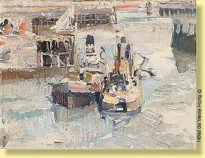 Maurice Wagemans (1877-1927) Ecole belge Huile sur