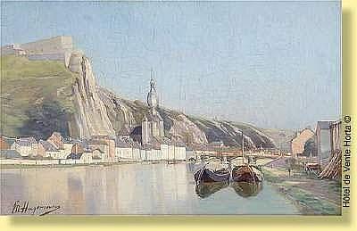 Maurice Hagemans (1852-1917) Ecole belge Huile sur