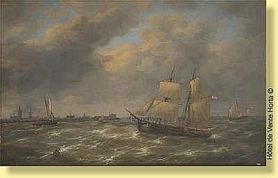 Louis Verboeckhoven (1827-1884) Ecole belge Huile