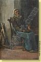 Adrien De Braekeleer (1818-1904) Ecole belge Huile, Adrien