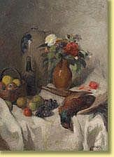 José Wolff (1884-1964) École belge Huile sur toile
