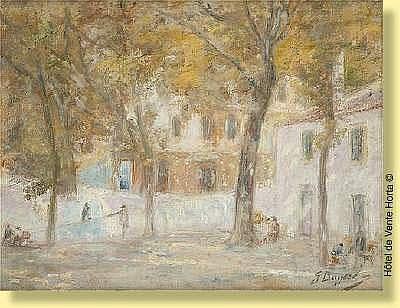Georges Buysse (1864-1916) Ecole belge Huile sur