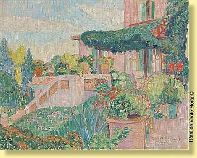 Carlos Reymond (1884-1970) Ecole française Huile