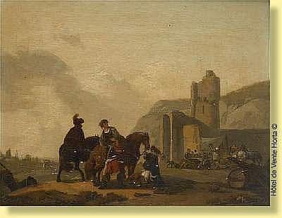 Michel Duplessis (actif 1791-1799) Ecole française