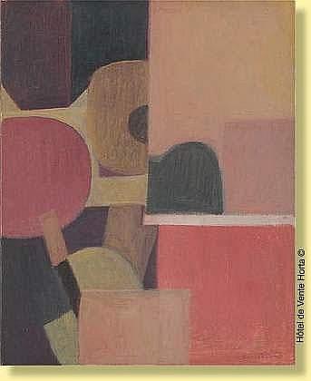 Georges Vandenbosch (1912-1981) Ecole belge Huile