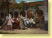 Auguste Serrure (1825-1903) Ecole belge Huile sur