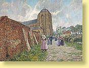 Ferdinand Willaert (1861-1938) Ecole belge Huile