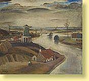Albert Claeys (1889-1967) Ecole belge Huile sur