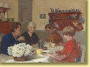 Ludovic Baues (1864-1937) École belge Huile sur