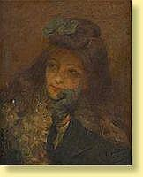 Edouard Van Esbroeck (1869-1949) Ecole belge Huile