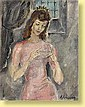 Anna Staritsky (1911-1981) Ecole française Huile, Anna Staritsky, Click for value