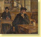 Gaston Haustrate (1878-1949) Ecole belge Huile sur