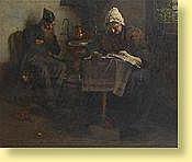Aloïs Boudry (1851-1938) Ecole belge Huile sur