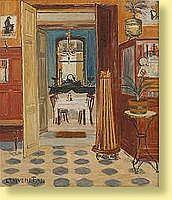Louis Thevenet (1874-1930) École belge Huile sur
