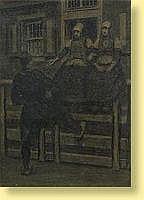 Xavier Mellery (1845-1921) École belge Technique