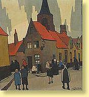 Achille Van Sassenbrouck (1886-1979) École belg