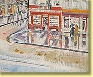 Pierre de Vaucleroy (1892-1969) École belge Huile