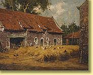 Simon Van Gelderen (1905-1986) École belge Huile