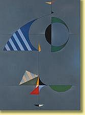 Jean Rets (1910-1998) École belge Huile sur toile: