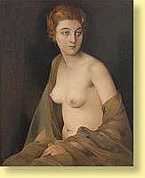 Firmin Baes (1874-1945) École belge  Pastel sur