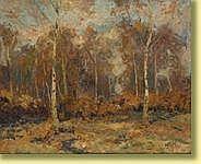 Richard Heintz (1871-1929) École belge Huile sur
