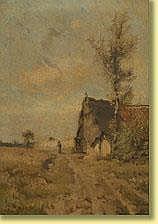 Jacques Rosseels (1828-1912) École belgeHuile sur