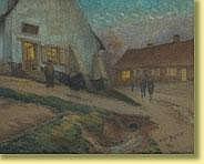 Edgar Bytebier (1875-1940) École belgeAquarelle