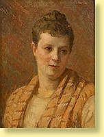 Edouard Agneessens (1842-1885) Ecole belge Huile
