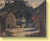 Richard Heintz (1871-1929) Ecole belge Huile sur