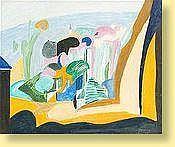 Jean Boquet (1908-1976) Ecole belge Huile sur