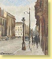 Alexandre Denonne (1879-1953) Ecole belge Huile