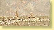 Frans Van Damme (1858-1925) Ecole belge Huile sur