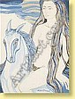 Mary Dambiermont (1932-1983) Ecole belge Aquarelle, Mary Dambiermont, Click for value