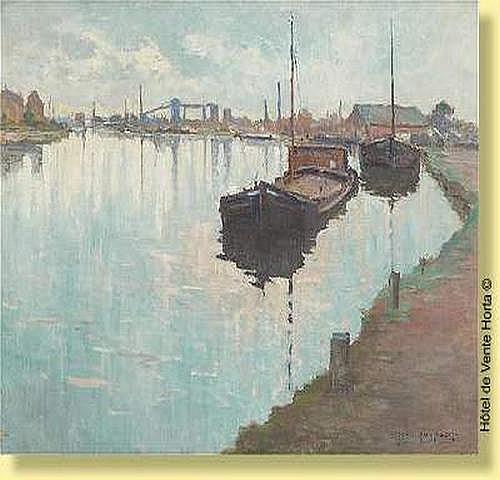 Jean Luypaert (1893-1954) Ecole belge Huile sur
