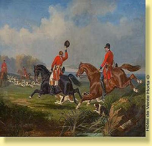 Jules de Bonnemaison (1809-) Ecole française Huile