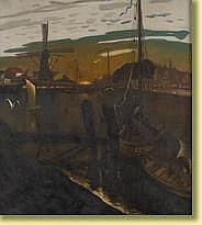 Marcel Gillis (1897-1972) École belge Huile sur