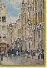 Émile Hoeterickx (1853-1923) École belge Aquarelle