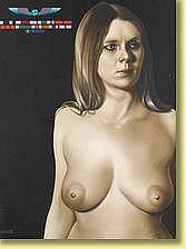 Roland Delcol (1942-) École belge Huile sur toile: