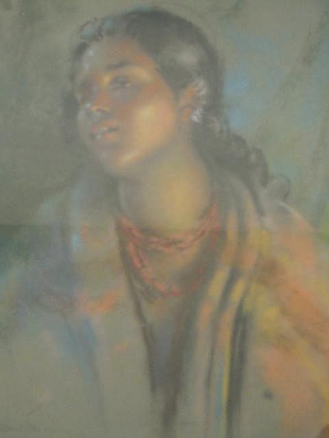H.C. Bevan-Petman (exhibited 1919 -39) - Study of
