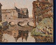 Emmanuel MEURIS (Liège 1894 - Fraipont 1969) Le