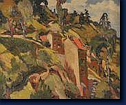 Emmanuel MEURIS (Liège 1894 - Fraipont 1969) Vue