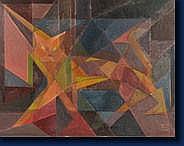 Milo MARTINET (Lausanne 1904 - Liège 1988) Chat